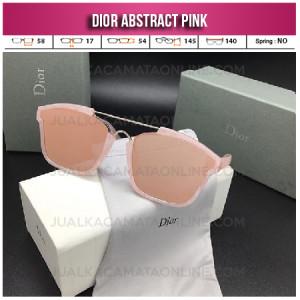 Toko Kacamata Wanita Dior Abstract Pink