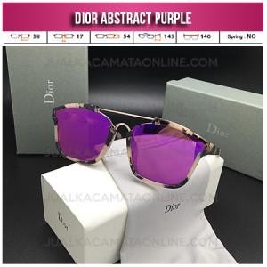 Harga Kacamata Wanita Dior Abstract Purple