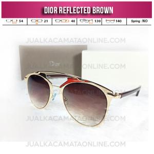 Kacamata Wanita Dior Reflected Brown