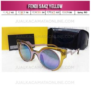 Jual Kacamata Wanita Fendi 5A42 Yellow