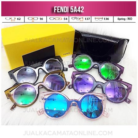 Jual Kacamata Wanita Fendi 5A42 Terbaru