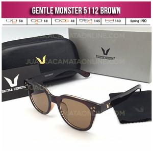 Toko Kacamata Gentle Monster 5112 Brown