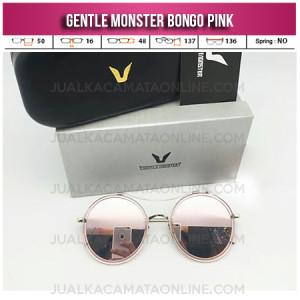 Toko Kacamata Gentle Monster Bongo Pink