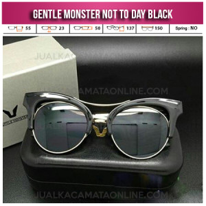 Jual Kacamata Gentle Monster Not To Day Black