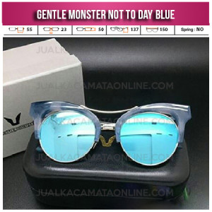 Grosir Kacamata Gentle Monster Not To Day Blue