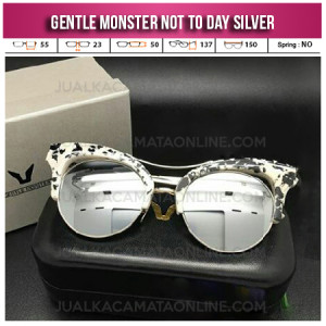 Kacamata Gentle Monster Not To Day Silver