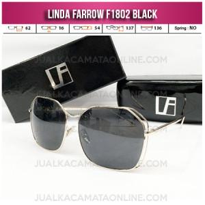 Harga Kacamata Wanita Linda Farrow F1802 Black