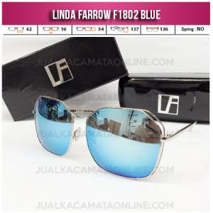 Toko Kacamata Wanita Linda Farrow F1802 Blue