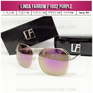 Kacamata Wanita Linda Farrow F1802 Purple