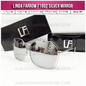 Jual Kacamata Wanita Linda Farrow F1802 Silver Mirror