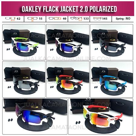 Jual Kacamata Oakley Flak Jacket 2.0 Polarized Terbaru