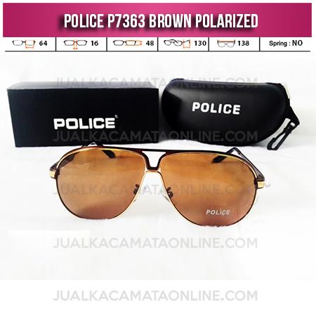 Jual Kacamata Police P7363 Brown