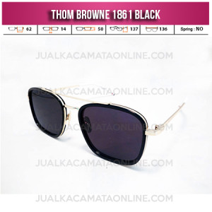 Harga Kacamata Thom Browne TH 1861 Black