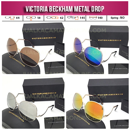 Jual Kacamata Victoria Beckham Square Metal Drop Terbaru