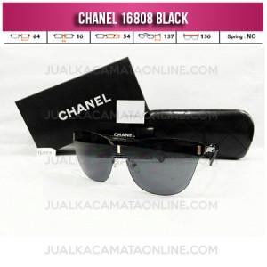 Harga Kacamata Wanita Chanel Terbaru 16808 Black