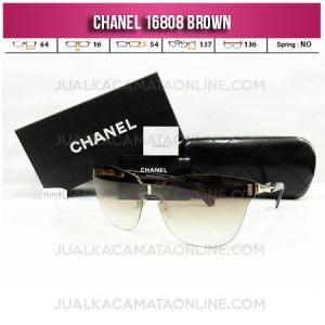 Grosir Kacamata Wanita Chanel Terbaru 16808 Brown