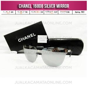 Jual Kacamata Wanita Chanel Terbaru 16808 Silver Mirror