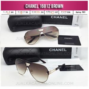 Jual Kacamata Wanita Chanel Terbaru 16812 Brown