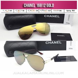 Model Kacamata Wanita Chanel Terbaru 16812 Gold
