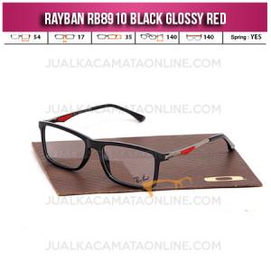 Harga Frame Kacamata Rayban Rb8910 Black Glossy Red