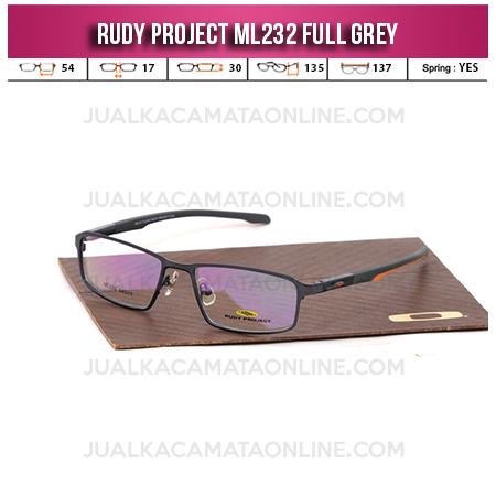 Grosir Frame Kacamata Terbaru Rudy Project ML232 Grey