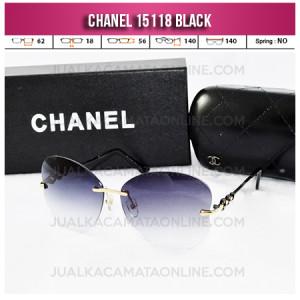 Harga Kacamata Chanel Terbaru 15118 Black
