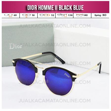 Harga Kacamata Wanita Terbaru Dior Homme II Black Blue