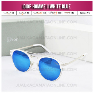 Jual Kacamata Wanita Terbaru Dior Homme II White Blue