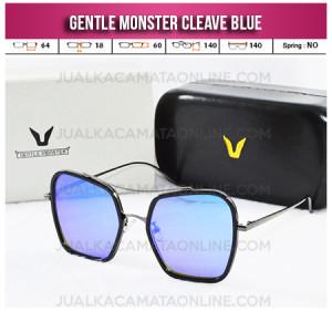 Model Kacamata Gentle Monster Cleave Blue