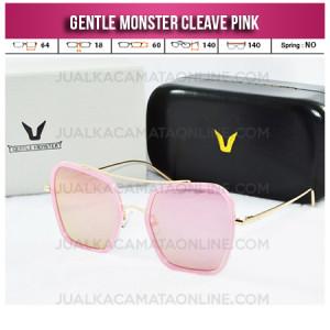Model Kacamata Gentle Monster Terbaru Cleave Pink