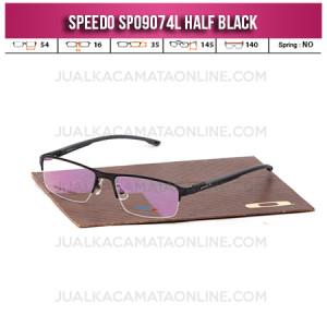 Model Kacamata Half Frame Terbaru Speedo SP09074L Black
