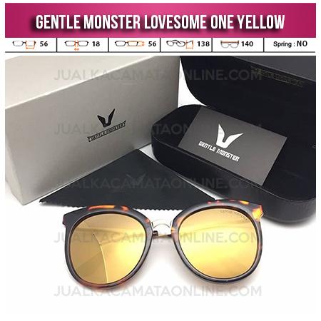 Harga Kacamata Korea Gentle Monster Lovesome One Yellow