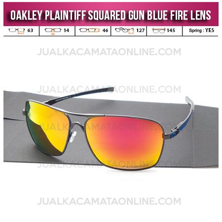 Jual Kacamata Oakley Plaintiff Squared Gun Blue Fire Model Kacamata Oakley Terbaru