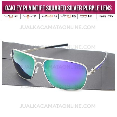 Jual Kacamata Oakley Plaintiff Squared Silver Purple Model Kacamata Oakley Terbaru