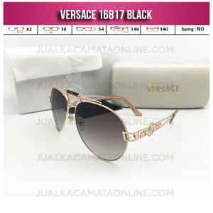 Model Kacamata Versace 16817 Unisex Black