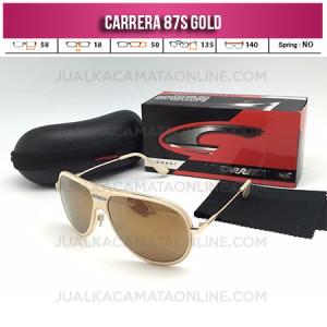 Model Kacamata Carrera 87S Fullset Gold