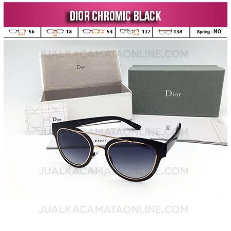 Trend Kacamata Wanita Terbaru Dior Chromic Black