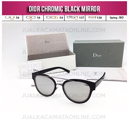 Toko Kacamata Wanita Terbaru Dior Chromic Black Mirror