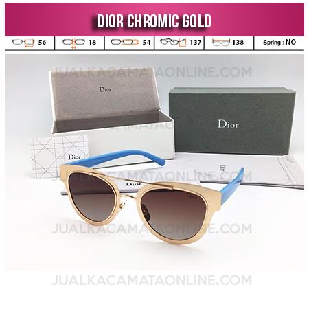 Harga Kacamata Wanita Terbaru Dior Chromic Gold