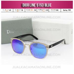 Toko Kacamata Wanita Terbaru Dior Line 5153 Blue