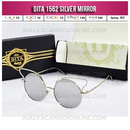 Jual Kacamata Wanita Terbaru Dita 1562 Silver Mirror