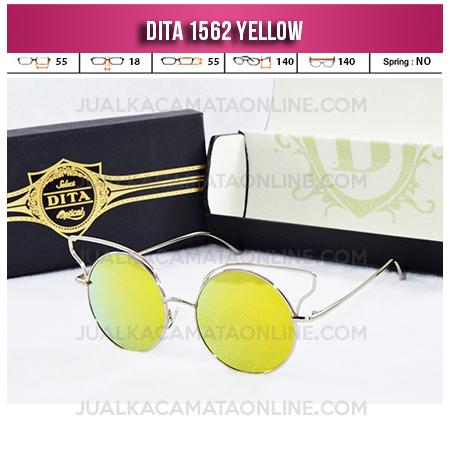 Model Kacamata Wanita Terbaru Dita 1562 Yellow