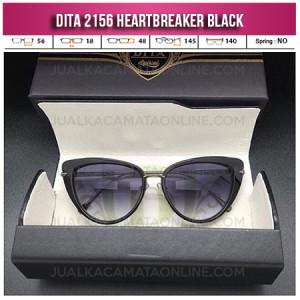 Jual Kacamata Wanita Terbaru Dita Heartbreaker Black