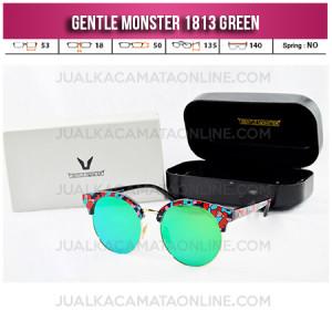 Model Kacamata Wanita Terbaru Gentle Monster 1813 Green