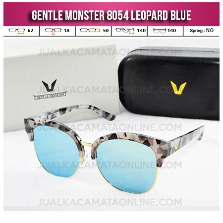 Jual Kacamata Wanita Terbaru Gentle Monster 8054 Leopard Blue