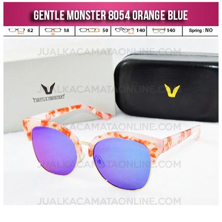 Model Kacamata Wanita Terbaru Gentle Monster 8054 Orange Blue