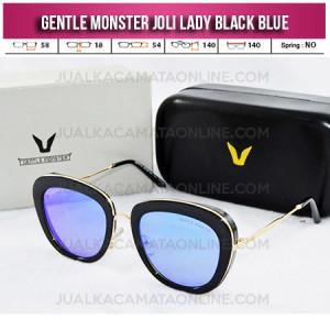 Harga Kacamata Gentle Monster Joli Lady Black Blue Kacamata Wanita Terbaru