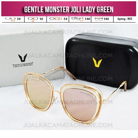 Kacamata Gentle Monster Joli Lady Green Kacamata Wanita Terbaru