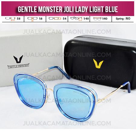 Kacamata Gentle Monster Joli Lady Light Blue Kacamata Wanita Terbaru