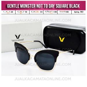 Model Kacamata Gentle Monster Terbaru Not To Day II Black